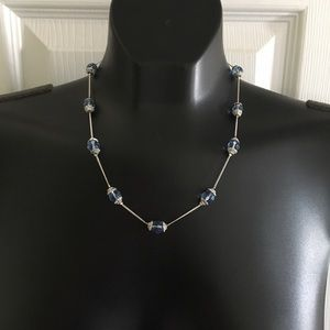 Premier Designs Crystal Necklace & Earrings